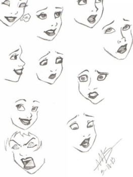 Disney Expressions by toxic-rainbows