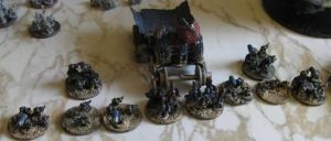 Epic Ork Warband by Glomscient