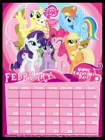 My Little Pony - February Calendar 2013 by RavenEvert