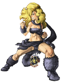 Commission: Ayla from Chrono Trigger by karniz