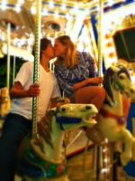 Carousel Kiss by Sage-Whisker