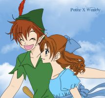 Peter X Wendy Fly by MaoPop