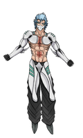 Grimmjow New Form by Arrancarfighter