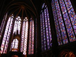Sainte-Chapelle by pandarune