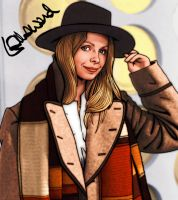 Lalla Ward- Romana- Doctor Who by tygerbug