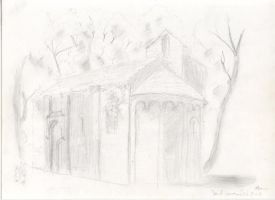 The chapel of St. Germain by Mneon