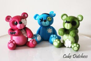 Zombie Bears by Naera