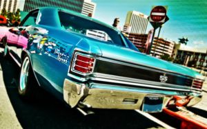 1967 Blue SS Chevelle by prospiderman