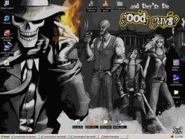 Skulduggery Desktop by everybodyin