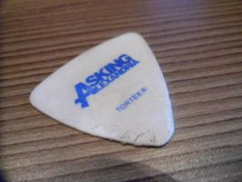 Asking Alexandria guitar pick by CannibalBlowjob