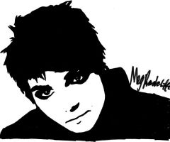 Gerard Way, My Hero by XvictoryXvenomX