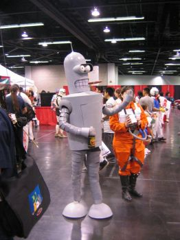 Bender Cosplay by Knightfourteen