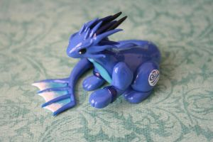 Water Tribe Dragon 1 by redninjacreations
