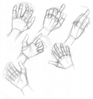 Hands Practice 02 by Little-Katydid