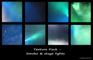 Textures- Smoke stagelights by rockgem