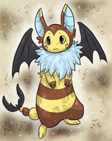 Furret+Swoobat Fusion [closed] by Skeletpengu