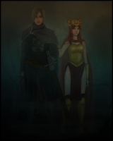 + -- The Prince and Valkyrie Fanart--+ by AngelJasiel