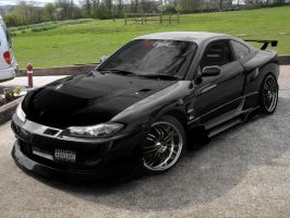 SILVIA S15 BACK IN BLACK by rocker9961