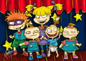 Rugrats Fan Art Commission by helencung