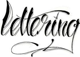 Lettering.. by GeertY