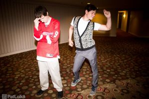Ferris Bueller and Cameron Frye by arivin923