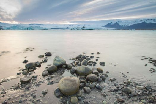 Iceland Waterscape Stock by little-spacey