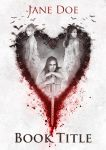 Book cover - the bleeding heart by queenofeagles