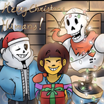 Merry Christmas humans!!! by Desteny-Love