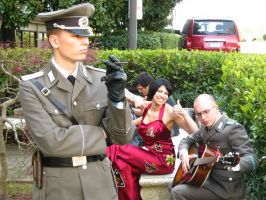AAD #9 - German General, Ada Wong, and a Guitarist by vincent-h-nguyen