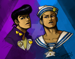 Josuke Squared by pizza-tron-2010