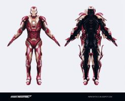 IRONMAN SUIT CONCEPT by SkipeRcze