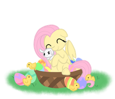 A Fluttershy Easter by Otterlore