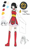 8th MANGAloid: Lucian Proema (Simplified Outfit) by Ninetalesroxy