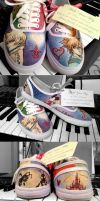 Kingdom Hearts Shoes by feavre