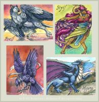 2011 Conbadges - Batch 1 by windfalcon