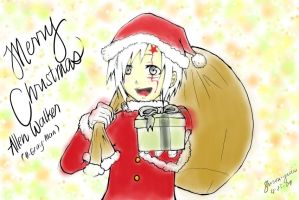 Merry Christmas :Allen Walker: by shirou-yuki