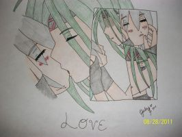 Envy and Serena -Love- by ChibiDeidara01