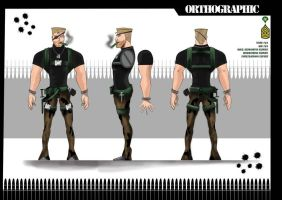 Cartoon Character - Spy Ortho by De1ty