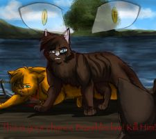 Hawkfrost's Death by RiverSpirit456