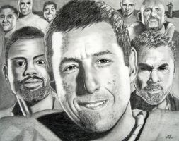Adam Sandler by Doctor-Pencil