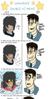 Double OC meme collab with BritishMedic!~ by Sniperisawesome