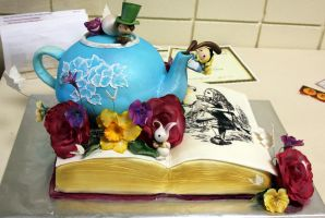 Edible Book Fair 2010 by TubaQueen