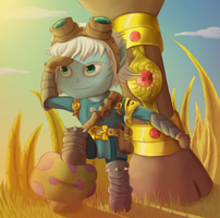 Request: Tristana Scouting by MarikBentusi
