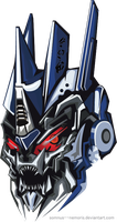 Soundwave head by Somnus--nemoriS