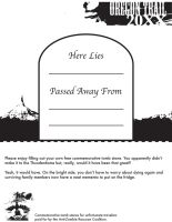Oregon Trail 20XX Grave by Lt-Action