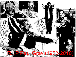 R.I.P Paul Gray 1972-2010 by VegetaNiko