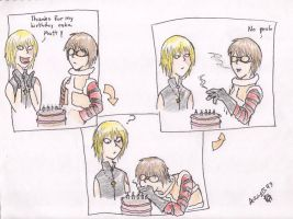 DN-Mello's Birthday Cake by ailuj93