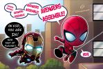 Spidey Assembles by Dreamgate-Gad