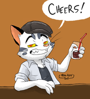 Cheers by Metal-Kitty
