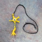 Brain Cell necklace by Zz-sleep